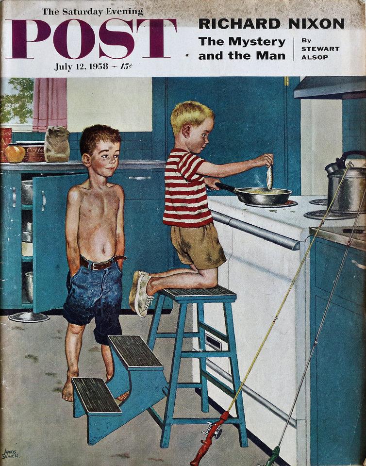 The Saturday Evening Post  Jul 12,1958