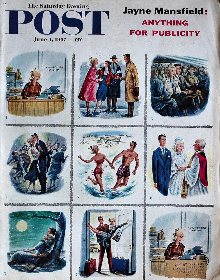 The Saturday Evening Post  Jun 1,1957
