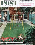 The Saturday Evening Post June 8, 1957 Magazine