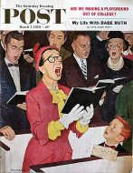 The Saturday Evening Post  Mar 7,1959 Magazine