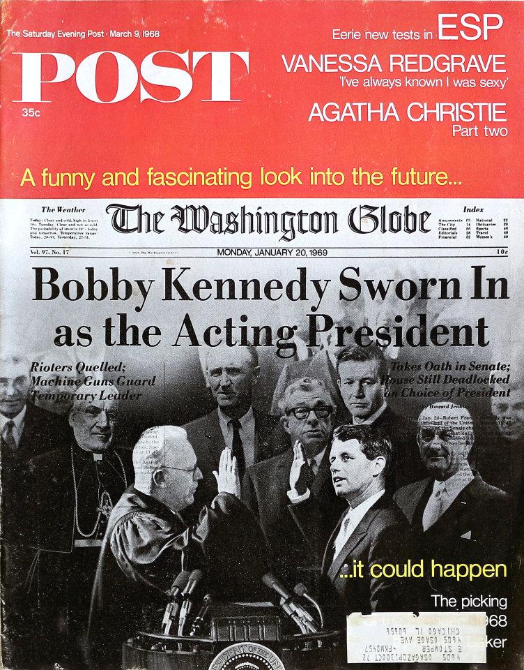 The Saturday Evening Post  Mar 9,1968
