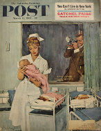 The Saturday Evening Post March 11, 1961 Magazine