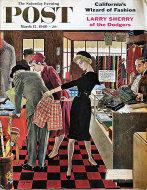 The Saturday Evening Post March 12, 1960 Magazine
