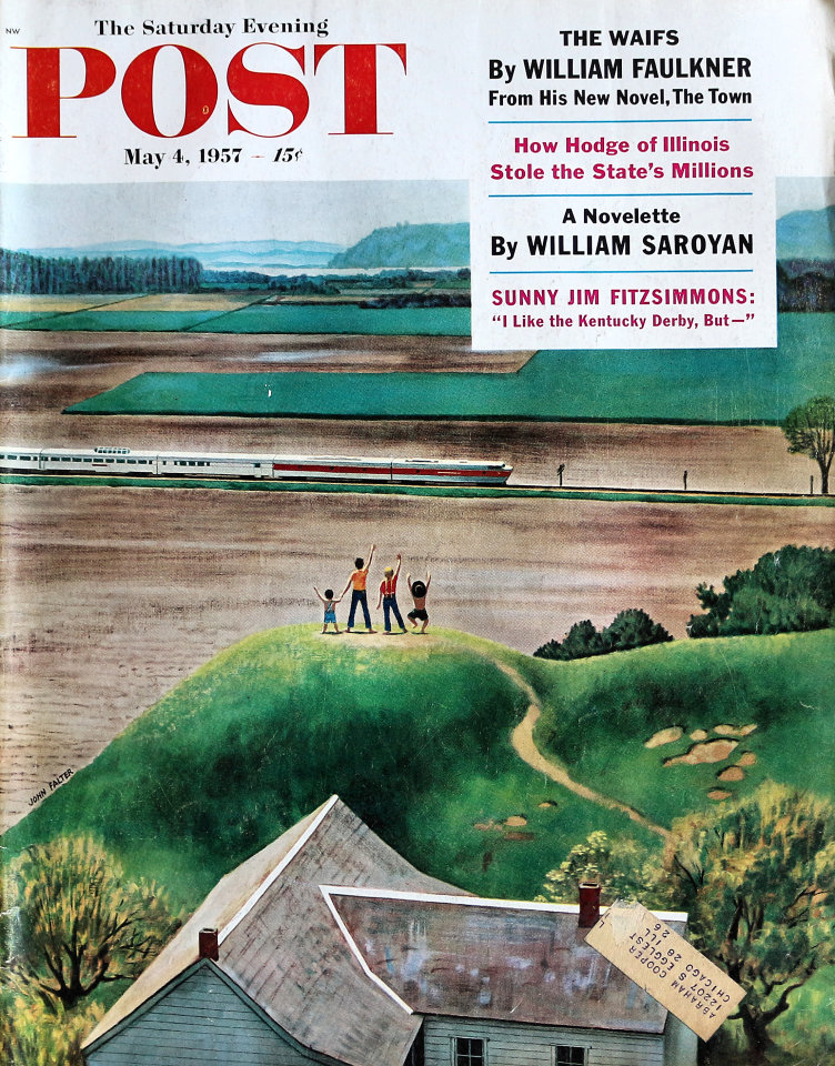 The Saturday Evening Post  May 4,1957