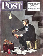 The Saturday Evening Post  Nov 4,1950 Magazine