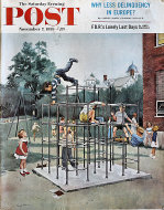 The Saturday Evening Post  Nov 7,1959 Magazine