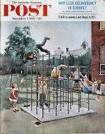 The Saturday Evening Post November 7, 1959 Magazine