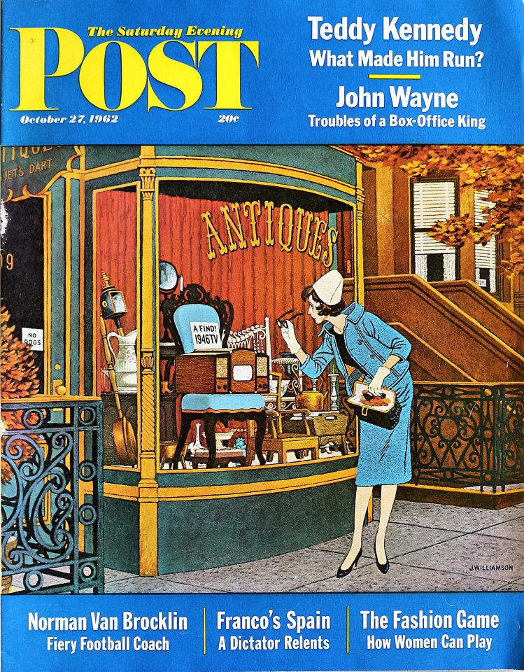 The Saturday Evening Post  Oct 27,1962