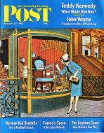 The Saturday Evening Post  Oct 27,1962 Magazine