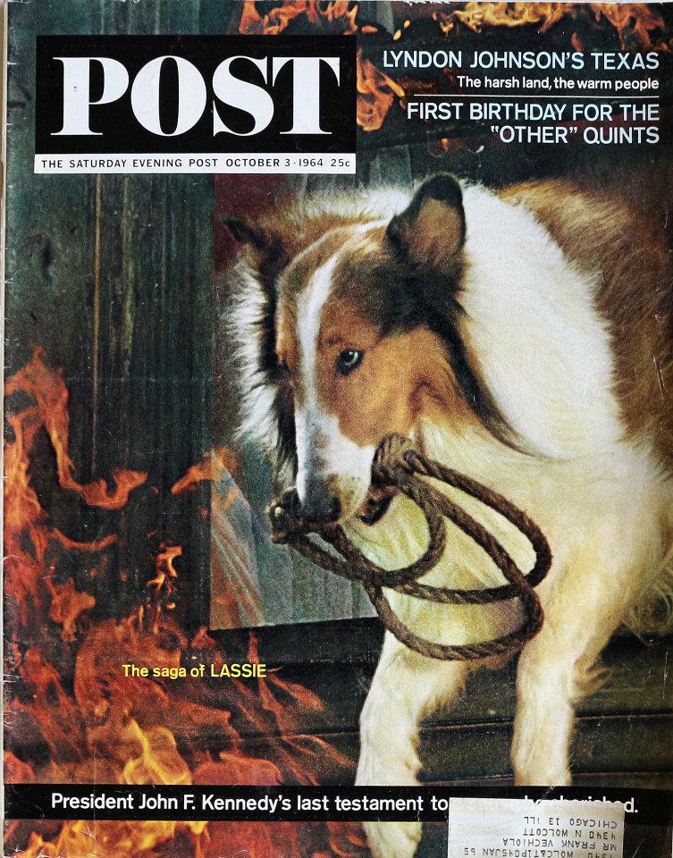 The Saturday Evening Post  Oct 3,1964