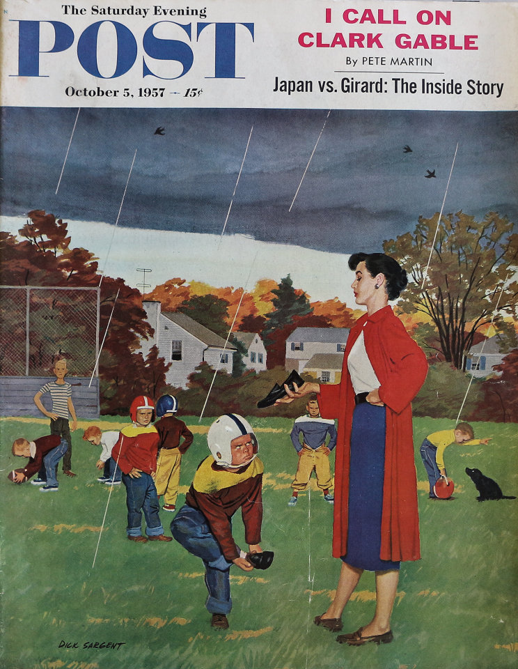 The Saturday Evening Post  Oct 5,1957