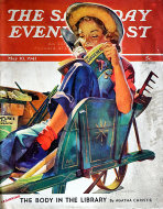 The Saturday Evening Post Vol. 213 No. 45 Magazine