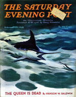 The Saturday Evening Post Vol. 214 No. 35 Magazine