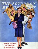 The Saturday Evening Post Vol. 214 No. 43 Magazine