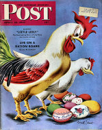 The Saturday Evening Post Vol. 215 No. 42 Magazine