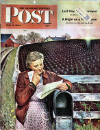 The Saturday Evening Post Vol. 215 No. 45 Magazine