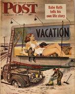 The Saturday Evening Post Vol. 220 No. 33 Magazine