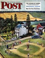 The Saturday Evening Post Vol. 223 No. 10 Magazine
