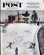 The Saturday Evening Post Vol. 225 No. 28 Magazine