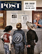 The Saturday Evening Post Vol. 225 No. 34 Magazine