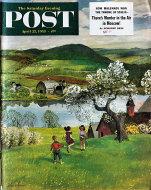 The Saturday Evening Post Vol. 225 No. 43 Magazine