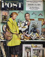 The Saturday Evening Post Vol. 227 No. 44 Magazine