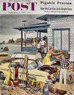 The Saturday Evening Post Vol. 229 No. 10 Magazine