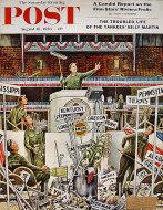 The Saturday Evening Post Vol. 229 No. 7 Magazine