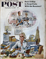 The Saturday Evening Post Vol. 232 No. 12 Magazine