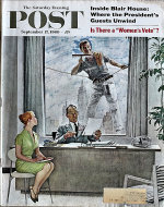 The Saturday Evening Post Vol. 233 No. 12 Magazine