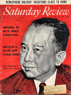 The Saturday Review Apr 23,1955 Magazine