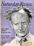 The Saturday Review Feb 19,1955 Magazine