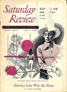 The Saturday Review Jul 1,1950 Magazine