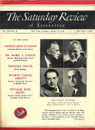The Saturday Review Mar 14,1936 Magazine