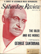 The Saturday Review May 15,1954 Magazine