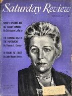 The Saturday Review Nov 6,1954 Magazine