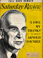 The Saturday Review Oct 2,1954 Magazine