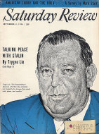 The Saturday Review September 4, 1954 Magazine