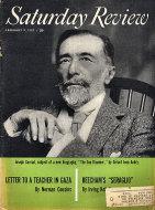 The Saturday Review Vol. XL No. 6 Magazine