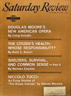 The Saturday Review Vol. XLIV No. 43 Magazine