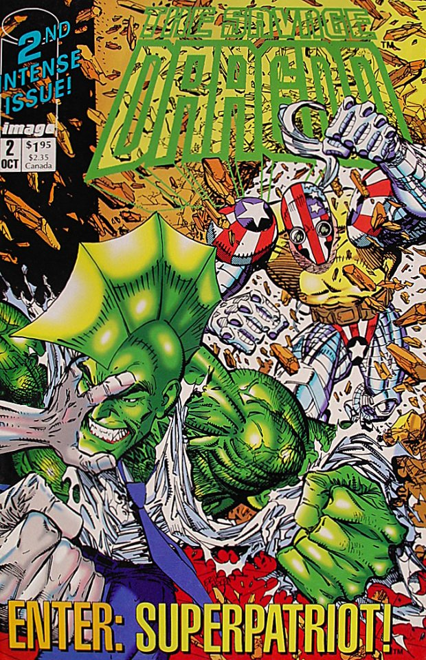 The Savage Dragon Comic Book