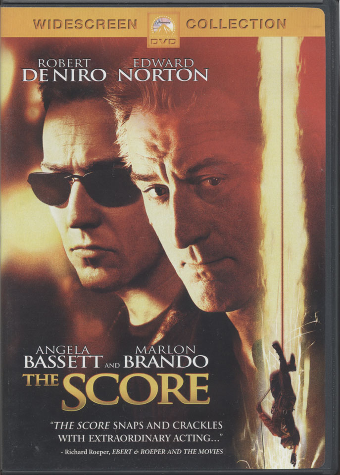 The Score Dvd 2001 At Wolfgang S