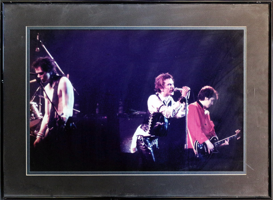 The Sex Pistols Framed Vintage Print
