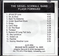 The Siegel-Schwall Band CD