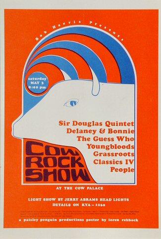 The Sir Douglas Quintet Handbill