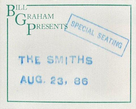 The Smiths Backstage Pass