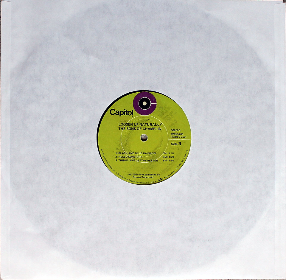 """The Sons of Champlin Vinyl 12"""" (Used)"""