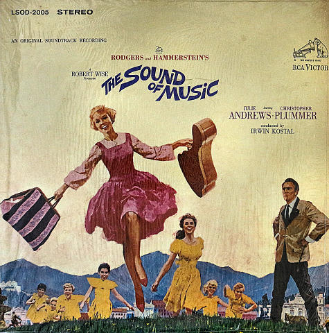 """The Sound of Music Vinyl 12"""" (Used)"""