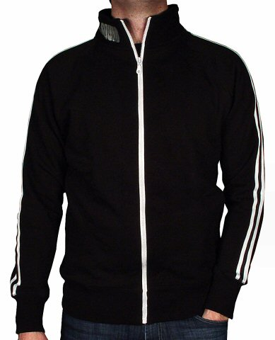 The Sound Men's Track Jacket reverse side