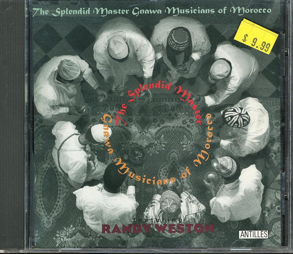 The Splendid Master Gnawa Musicians of Morocco CD